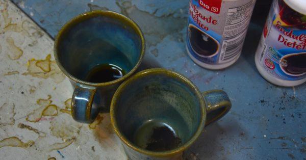 La cafetera del pittore di Buenos Aires